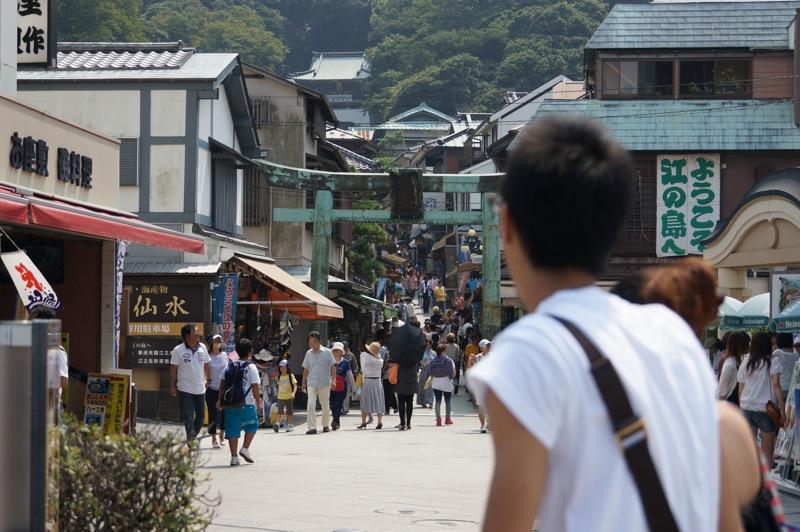 一日江ノ島三昧その1 狭いようで以外と広い江ノ島を歩きまくり