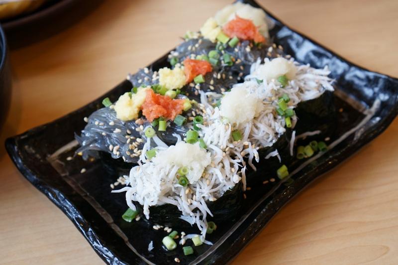 生しらす&釜揚げしらす寿司
