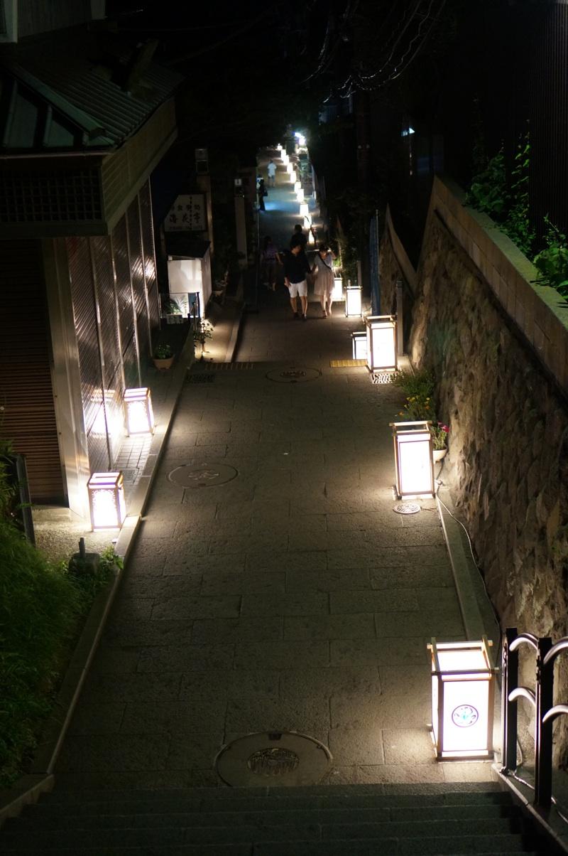 一日江ノ島三昧その3 江ノ島観光締めくくりに『江ノ島灯籠』を楽しんだ