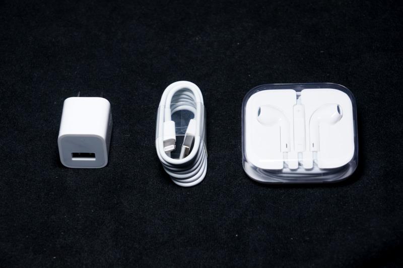 Iphone 5sの付属品